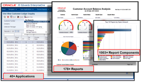 JD Edwards One View Reporting